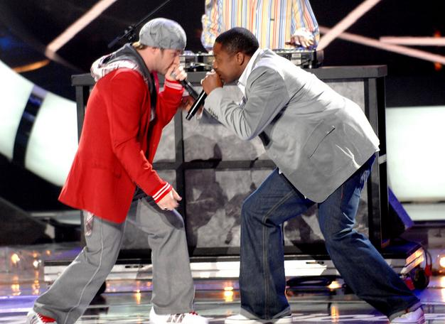 Blake Lewis, Doug E Fresh, Barry B (American Idol Season 6 on 5.23.07