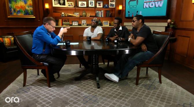 Boyz II Men on Larry King Now Screenshot.