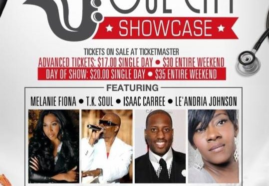 Presentation of Scholarships and Grant at Soul City Showcase