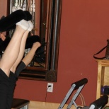 Clients feeling the burn at Pilates of Jackson.