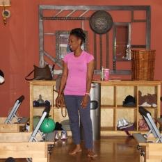 Angelia Brown of Pilates of Jackson.
