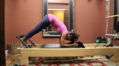 Angelia Brown in private room at PIlates of Jackson