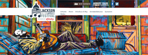 Screenshot from festival's official website.