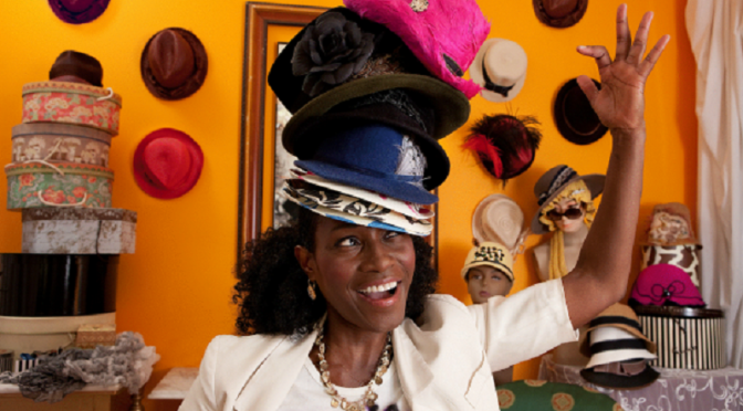 Go ahead, wear many hats. September is National Hat Month!