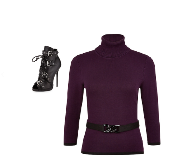 Wish Look #OOTD: Sleek Purple Passion
