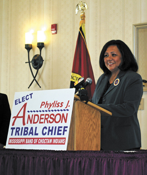 AP photo of Chief Phyliss J. Anderson. Photographer: Steven Thomas