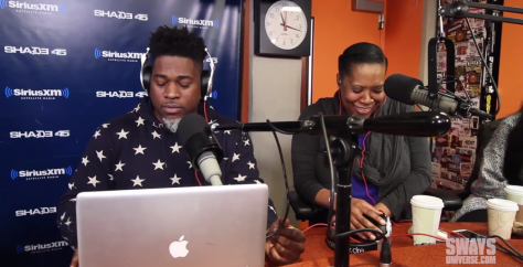 What has Heather B. blushing? Watch Banner on Sway in the morning to find out.