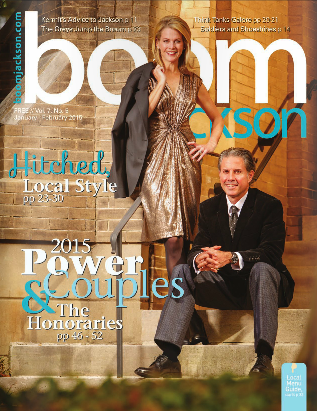 Latest BOOM Jackson cover January - February, 2015