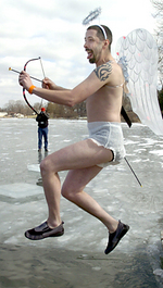 2006 Special Olympics Plunge in Livingston County Michigan.
