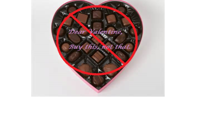 Valentine's Day Mission: #savethechocolate