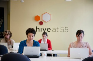 Hive at 55 image from NYCEDC Annual Report 2010.