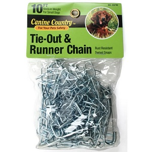 tie out chain