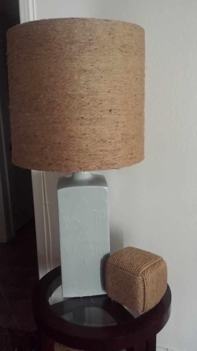 DIY: Lamp Re-Vamp