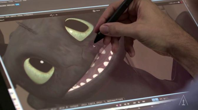 Creative Process by Animator Simon Otto (How to Train Your Dragon 2)