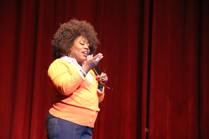 Sheryl Underwood Inspires Audience at MS Greek Weekend Step & Comedy Show