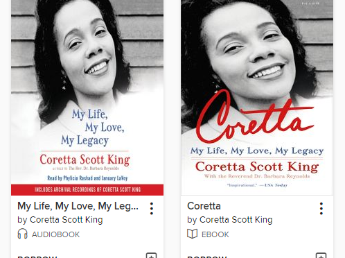 Book/Audiobook: Coretta: My Life, My Love, My Legacy